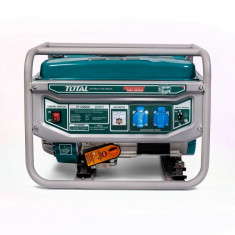Generator pe benzina Total 2800 W, pornire automata