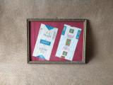 Etichete vechi tigari inramate, eticheta veche de tigari de colectie