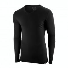 Bluza pentru barbati, negru, mulata, simpla, slim fit - winner, L, M, S, XL, XXL