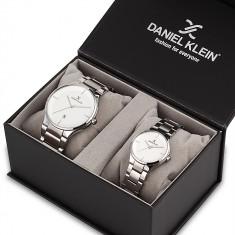 Set ceasuri pentru dama si barbati, Daniel Klein Pair, DK11784-1P
