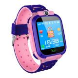 Cumpara ieftin Ceas Smartwatch Copii Techstar® SW70 Roz, SIM, Monitorizare Locatie, Intercom, SOS, Camera, Microfon
