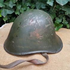 Casca militara romaneasca, model olandez WW2
