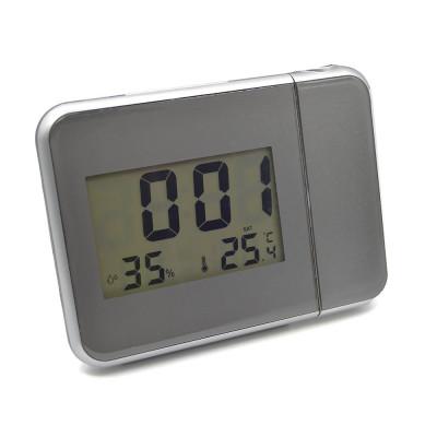 Ceas digital multifunctional cu proiectia orei pe tavan/perete foto