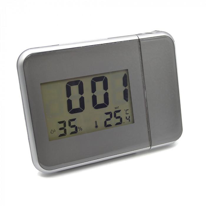 Ceas digital multifunctional cu proiectia orei pe tavan/perete