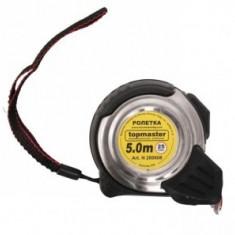 Ruleta metalica dublu stop 3m x 19mm, TopMaster