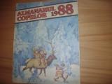 ALMANAHUL  COPIILOR  1988  (format mare, ilustratii, benzi desenate, poezii,etc)