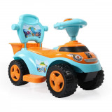Masinuta de impins 2 in 1 Ocean Car Blue
