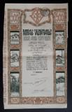 Actiune 1919 Fabricele Valimareanu - Titlu - actie - actiuni - Rara