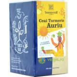 Ceai Turmeric Auriu cu Ghimbir si Cardamom Ecologic/Bio 18dz