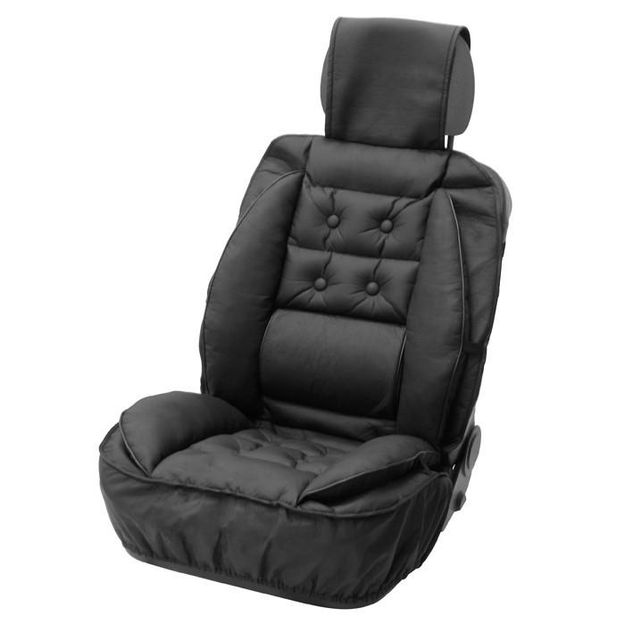 Husa scaun auto Carpoint cu suport lombar pentru scaunele din fata , 1 buc. Kft Auto