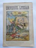 Ziarul Universul Literar ,18 Martie 1902 , Regele Carol I , cromolitografie