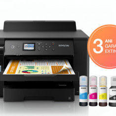 Imprimanta inkjet Epson EcoTank L11160 Inkjet Color A3+ Retea Wi-Fi