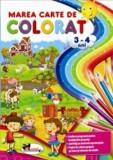 Marea carte de colorat - 3-4 ani/***, Aramis