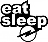 Eat Sleep Opel