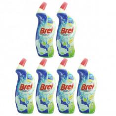 6 x Bref Lemonitta Power, Solutie gel pentru WC, 6 x 700ml