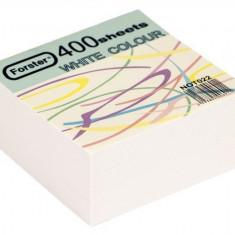 Rezervă cub din hârtie albă