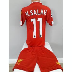 Echipament  fotbal pentru copii Liverpool M.Salah model nou 2019-2020