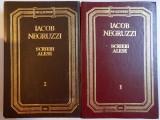 SCRIERI ALESE de IACOB NEGRUZZI , VOL I - II , 1992