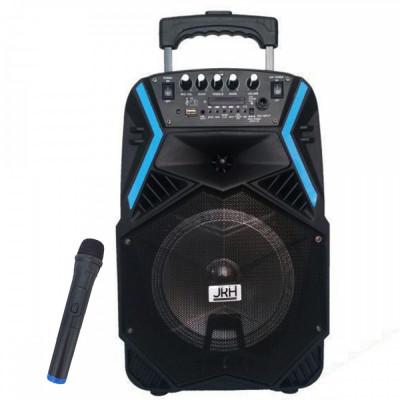 Boxa Bluetooth activa, portabila, tip troller, JRH A81 , microfon inclus, Bluetooth, AUX, Radio Fm, USB foto
