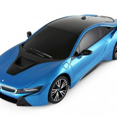 Masina Rastar, BMW i8 1:18 RTR cu telecomanda - Albastru