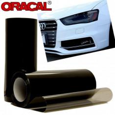 Folie protectie faruri / stopuri ORACAL (50 x 50 cm) - fumuriu inchis