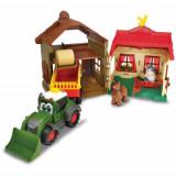 Cumpara ieftin Set Happy Farm House cu Tractor si Accesorii