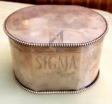 Cutie, zaharnita argint
