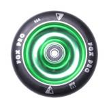 Roata trotineta FOX PRO Raw 110 mm- negru-verde II