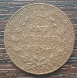 (M1089) MONEDA INDIA - ONE QUARTER ANNA 1835, ADMINISTRATIE BRITANICA, Asia
