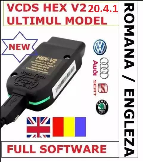 VCDS VAG COM 20.4.2 Romana-Engleza+Autodata VW AUDI SKODA SEAT GARANTIE!