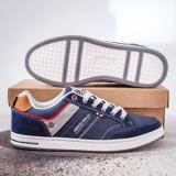 Pantofi casual barbati albastri Jarimi