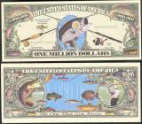 !!! SUA = FANTASY NOTE = PESCUITUL  IN  APE  DULCI  - 2002 - UNC