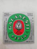 Eticheta bere - GALANESTI Perla .