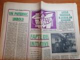 magazin 1 decembrie 1973-articol si foto combinatul siderurgic galati