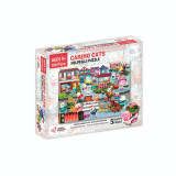 Puzzle cu surprize Helpfilli Chalk and Chuckles, 100 piese, 5 ani+