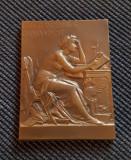Placheta D. A. Sturdza - 1903 - gravor E. Dubois