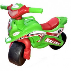 Motocicleta de impins MyKids Racing 0139/5 Verde/Rosu