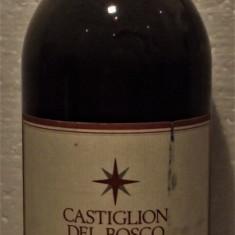 A24- VIN CASTIGLION DEL BOSCO, ROSSO DI MONTALCINO DOC, rec. 1990 cl 75 gr 12,5