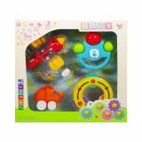 Jucarii zornaitoare, 4 buc/cutie, Plastic