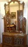 Comoda cu oglinda stil baroc/rococo/ludovic,sec XIX, Consola, 1800 - 1899