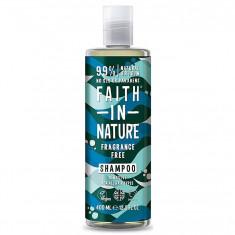 Sampon fara miros, pt toate tipurile de par, Faith in Nature, 400 ml