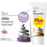 Pachet: Silfide Complex De Slabit Forte 100cpr + Ceai De Slabit 30Plicuri + Gel Anticelulitic 200ml