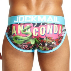 Sexy Chiloti Jockstrap Barbati JockMail Push Up Suspensor Boxeri Anaconda
