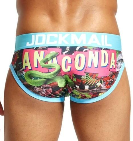 Sexy Chiloti Jockstrap Barbati JockMail Push Up Suspensor Boxeri Anaconda