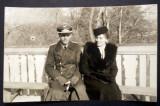 P.118 FOTOGRAFIE RAZBOI WWII OFITER GERMAN AVIATIE LUFTWAFFE 9/5,7cm