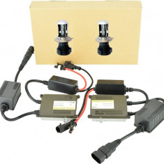 Instalatie Xenon Slim CAN BUS Digitala AC fara eroare 9-16V H4 BI-XENON ManiaCars