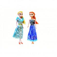 Set 2 Papusi Frozen Elsa & Anna