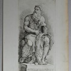 """Jan de Bisschop """"Paradigmata Graphices Variorum Artificum"""" gravura veche 1671"""