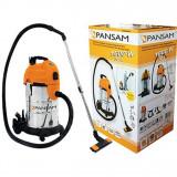 Aspirator industrial cu filtru semiautomat, 1600W, 30L A063040 Pansam