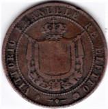 Italia Toscana 5 CENTESIMI 1859  Vittorio Emanuele  cotatie ridicata, Europa, Cupru (arama)